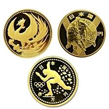 国内記念硬貨(金貨)