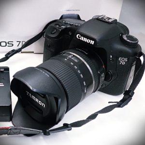 キャノン EOS 7D ボディ + タムロン 16-300mm F3.5-6.3 DiⅡ VC PZD MACRO