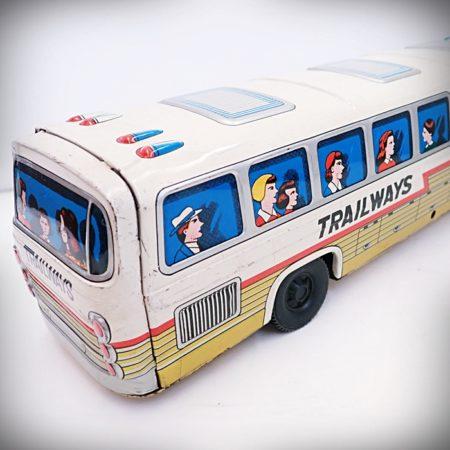 ブリキのおもちゃ トレイルウェイズ エクスプレスバス