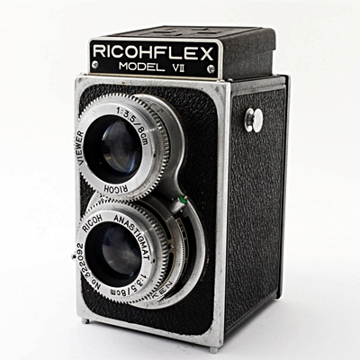 二眼レフカメラ