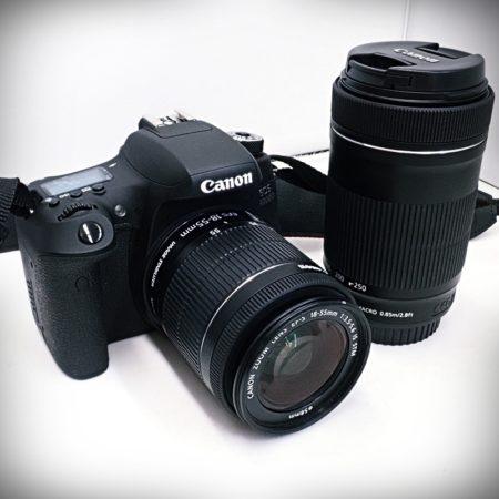 キャノン EOS 8000D ダブルズームキット 18-55mm / 55-250mm