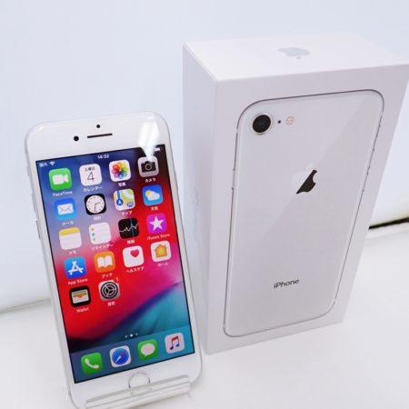 アップル iPhone8 64GB シルバー A1906 MQ792J/A SIMフリー
