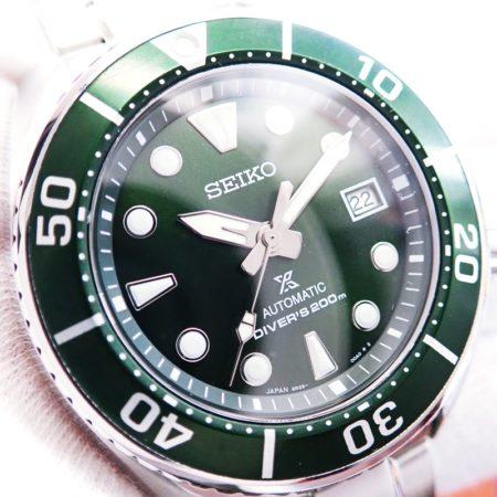 セイコー プロスペックス New Sumo Diver's 200m SBDC081 グリーン