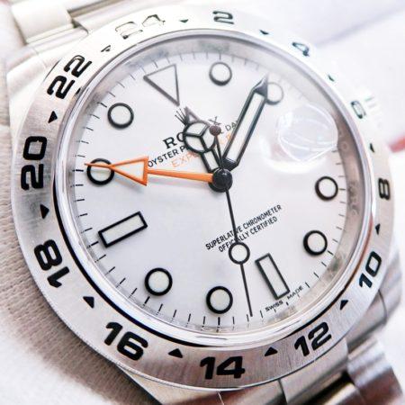 ロレックス エクスプローラーⅡ 216570 ランダム番 白文字盤