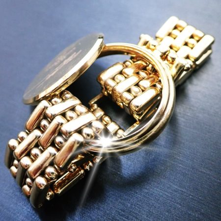 K18 金無垢時計のケース&ベルト 合計120g