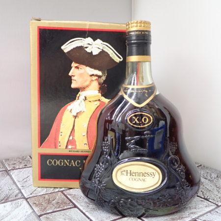 ヘネシー X.O. 金キャップ グリーンボトル 700ml 40% コニャック ブランデー 洋酒 古酒 Hennessy