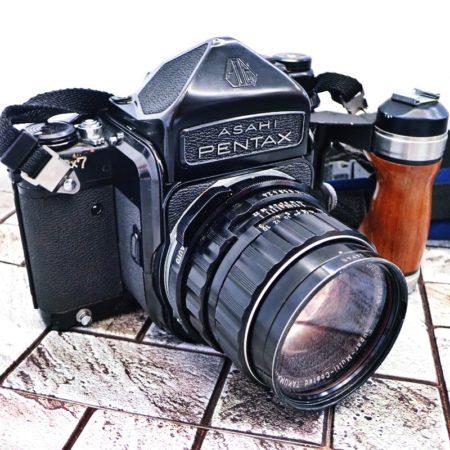 アサヒ ペンタックス 6×7 中判カメラ フルセット