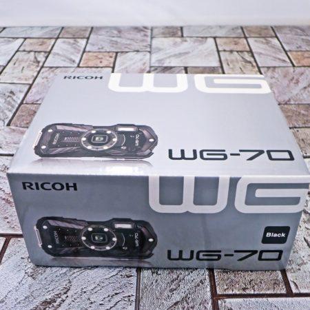 リコー デジタルカメラ WG-70 ブラック 本格防水 耐衝撃 防塵 耐寒 アウトドア