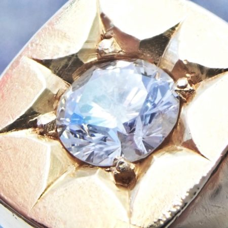 ダイヤモンド リング(オーダー品)ダイヤ1.58ct K18 重量39g
