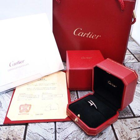 カルティエ ジュスト アン クル リング SM B4226000 ホワイトゴールド メンズ